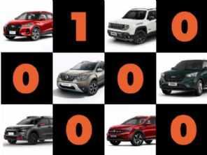 Ainda dá para comprar SUV zero km por menos de R$ 100 mil?