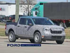 Versão mais barata da picape Ford Maverick é flagrada