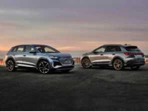 Audi apresenta a linha Q4 e-tron, seus SUVs elétricos mais baratos
