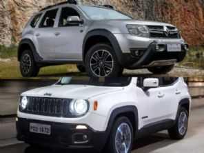 Jeep Renegade Sport diesel 2016 ou um Renault Duster automático 2020?