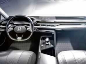 Honda mostra painel com central transparente que cairia bem no novo Civic