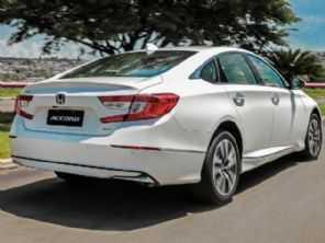 Com 8 airbags e 3 motores, Honda Accord híbrido estreia por R$ 299.900