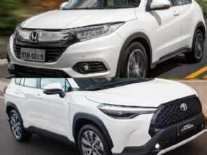 SUVs de R$ 150.000: Honda HR-V Touring ou um Toyota Corolla Cross XRE?