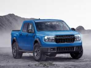 Ford Maverick: americanos já imaginam versão Raptor para a novidade