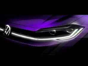 VW antecipa primeira imagem do Polo com novo visual