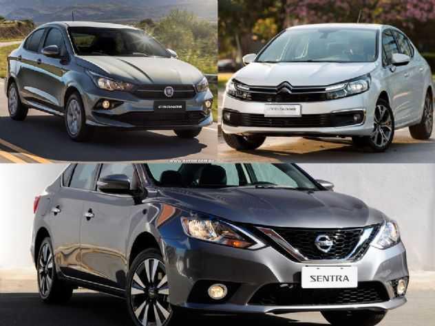 Sedãs usados: Nissan Sentra, Citroën C4 Lounge ou Fiat Cronos?