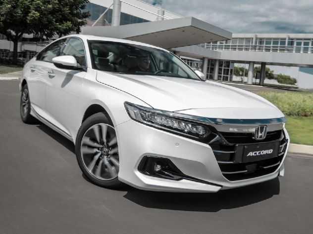 Alcança 17,6 km/l na cidade: Honda Accord só terá opção híbrida no Brasil
