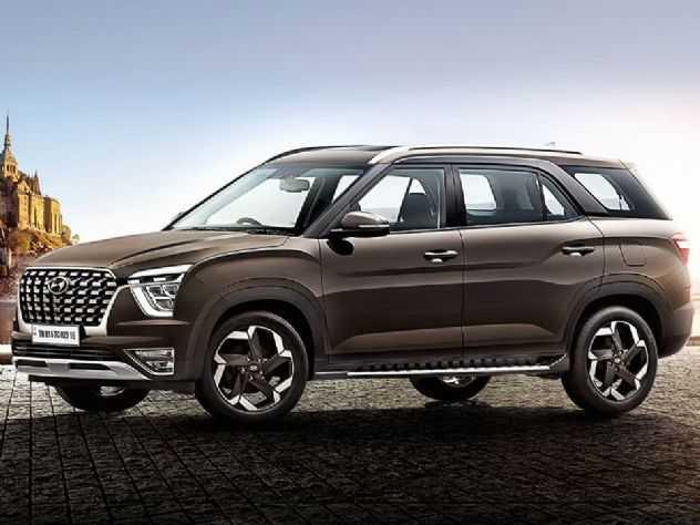 Hyundai Alcazar (Creta de 7 lugares) recebe elogios na Índia
