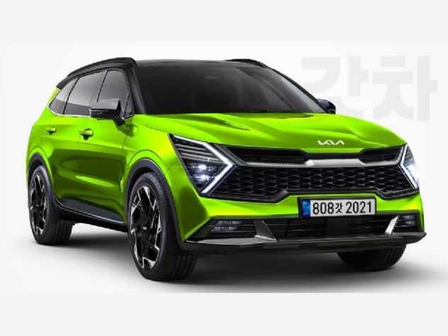 Novo Kia Sportage 2022 poderá ter visual fora do comum