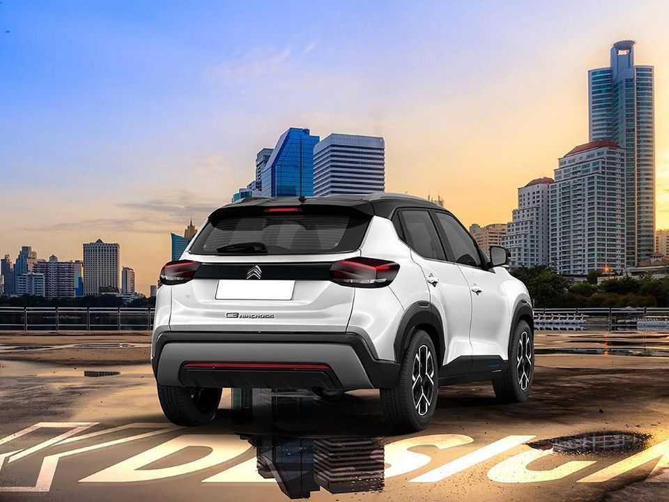 Projeção de Kleber Silva para o futuro crossover nacional da Citroën