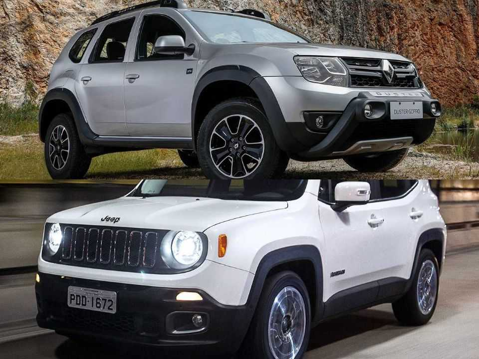 Renault Duster e Jeep Renegade