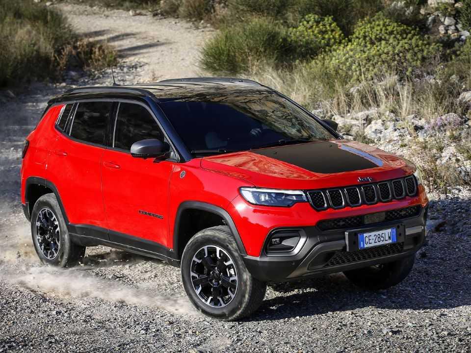Facelift do Jeep Compass produzido e comercializado na Europa