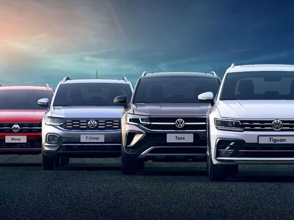 O Nivus, T-Cross, Taos e Tiguan: ofensiva da VW estará completa em breve