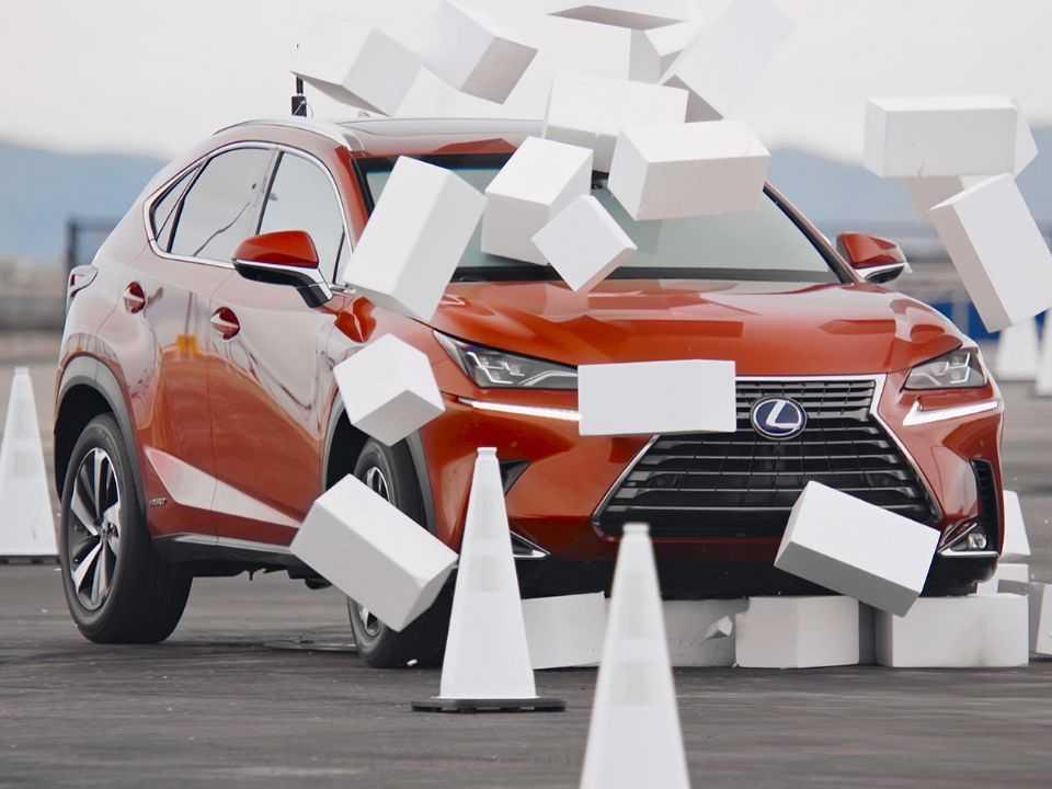 Unidade do NX especialmente preparada para a iniciativa da Lexus