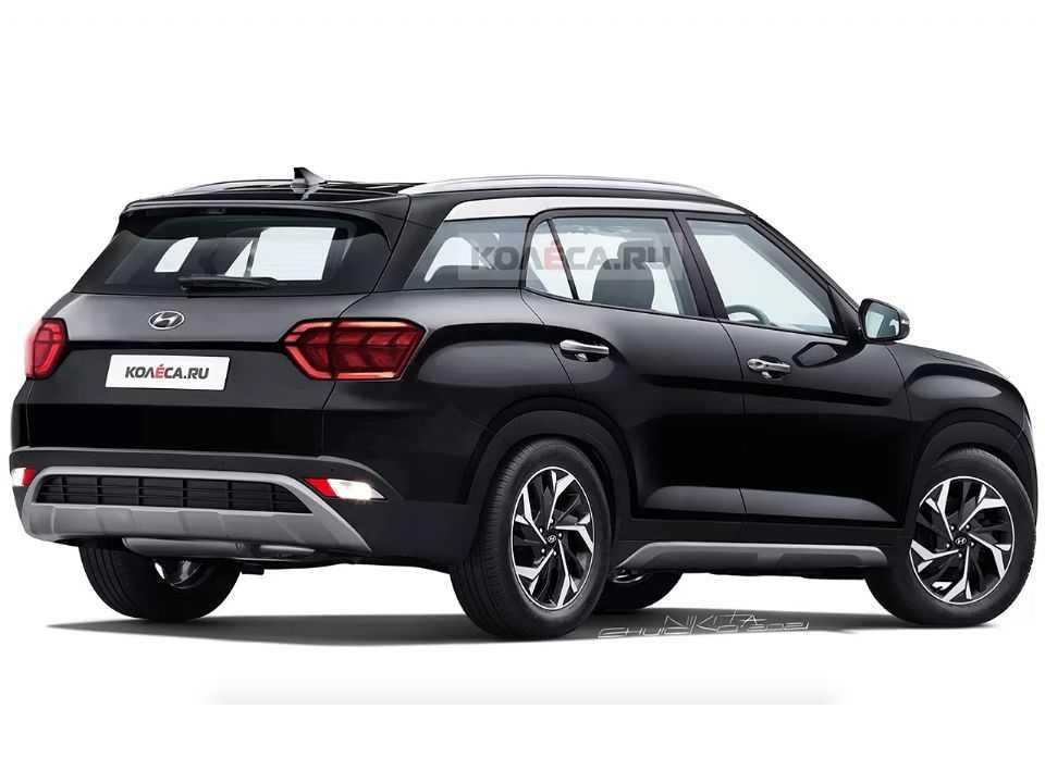 Projeção do site russo Kolesa para o futuro Hyundai Alcazar