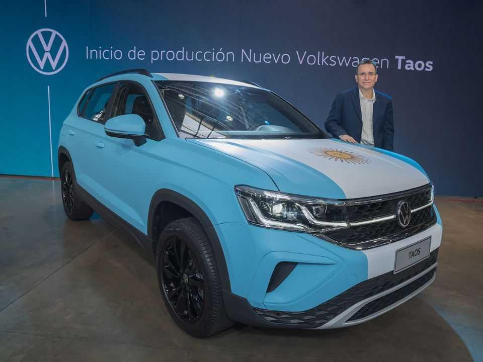VW investiu US$ 650 milhões na Argentina para produção do Taos