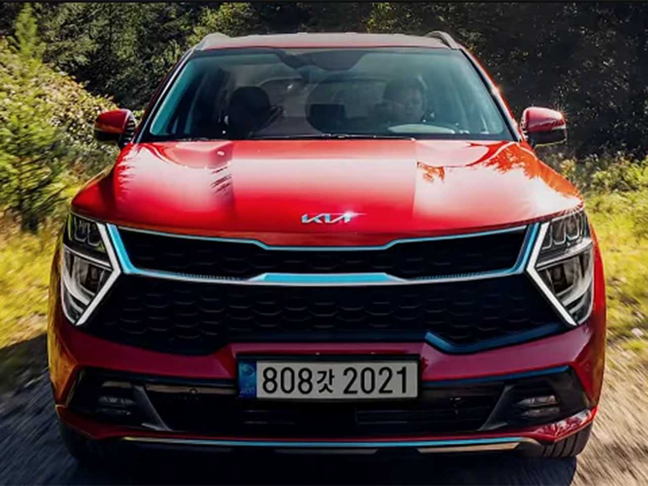 Possível imagem oficial vazada da nova geração do Kia Sportage