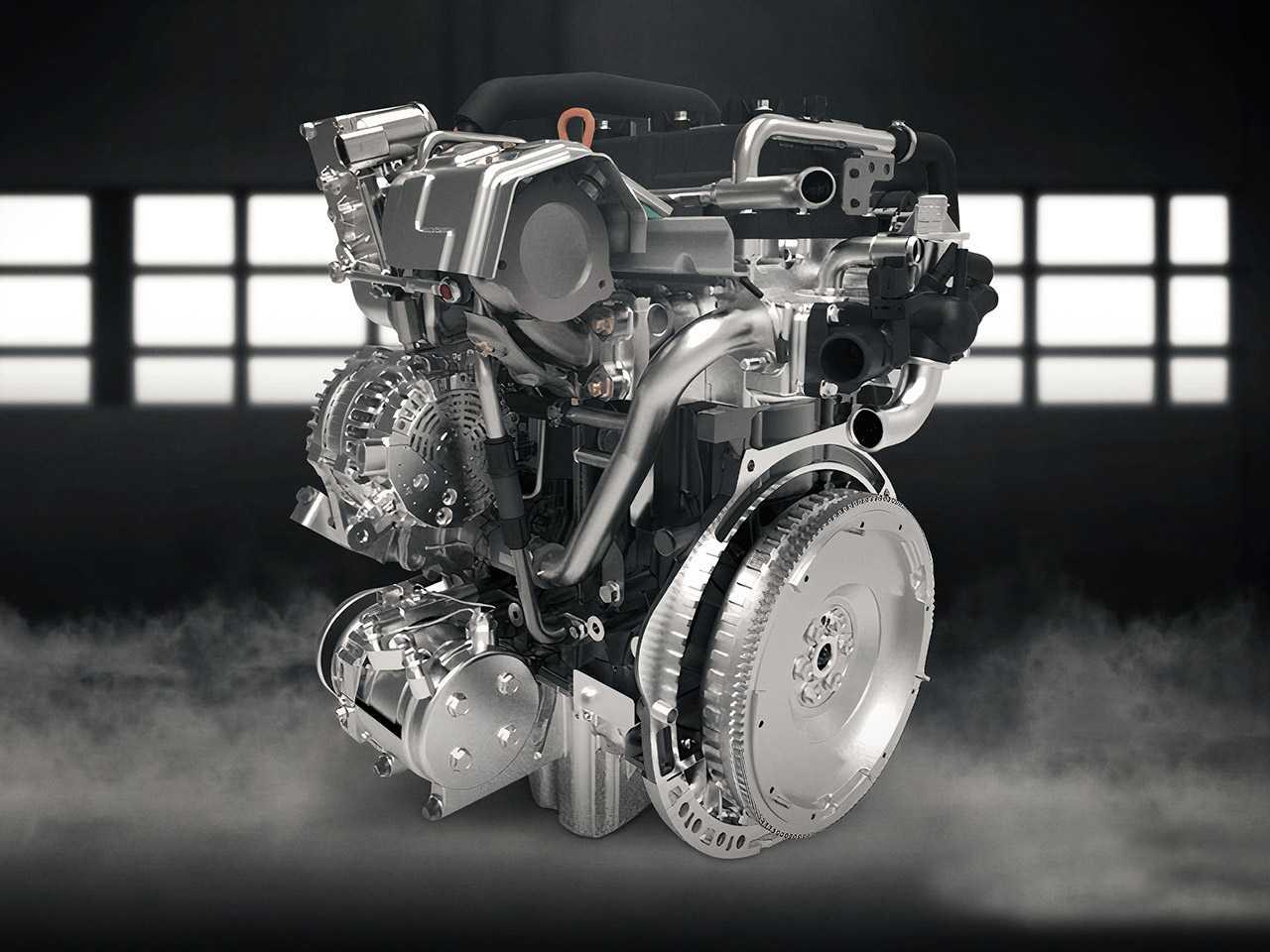 Motor turbo que será aplicado no novo SUV da CAOA Chery