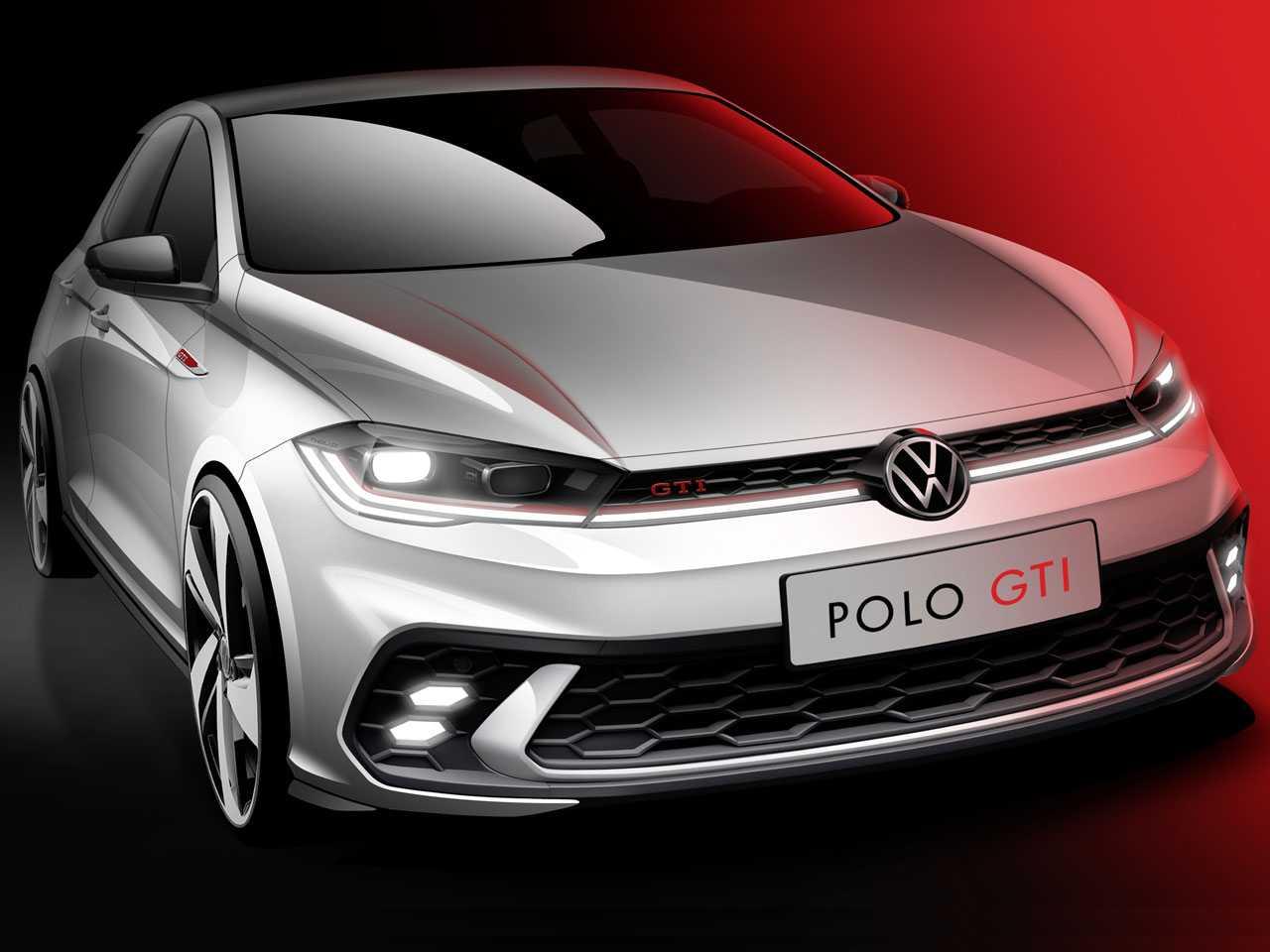 Teaser do novo VW Polo GTI