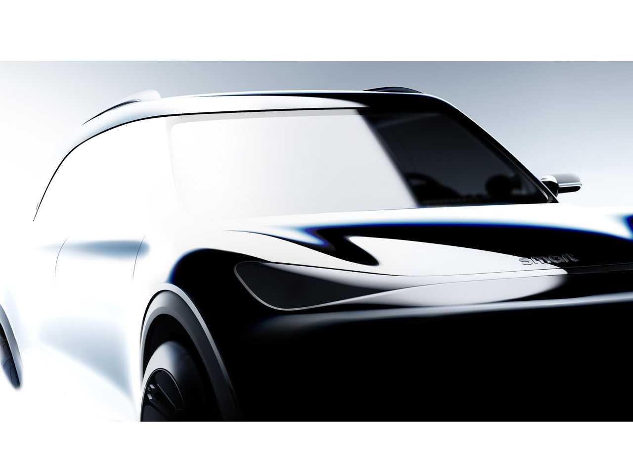 O inédito Smart SUV: plataforma da sócia Geely