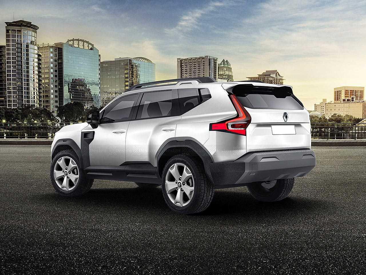 Baseado no conceito Dacia Bigster, designer imagina um SUV 7 lugares com a marca Renault