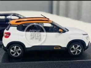 Novo Citroën C3 nacional é antecipado por miniatura
