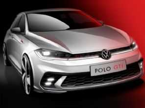 Volkswagen revela teaser do novo Polo GTI, que chega em junho