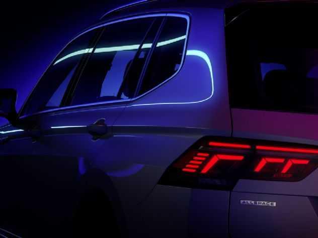 Novo VW Tiguan Allspace 2022 será revelado dia 12