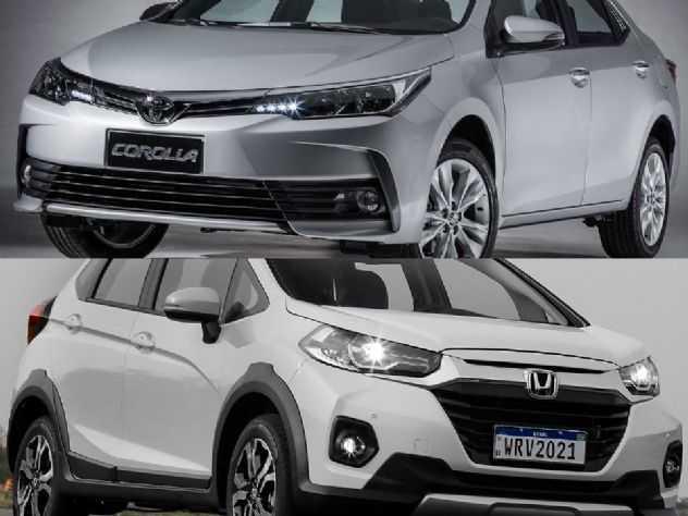 Toyota Corolla XEi seminovo ou um Honda WR-V EXL 0 km?
