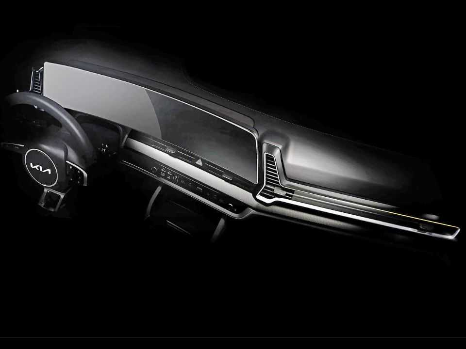 Teaser do novo Kia Sportage 2022