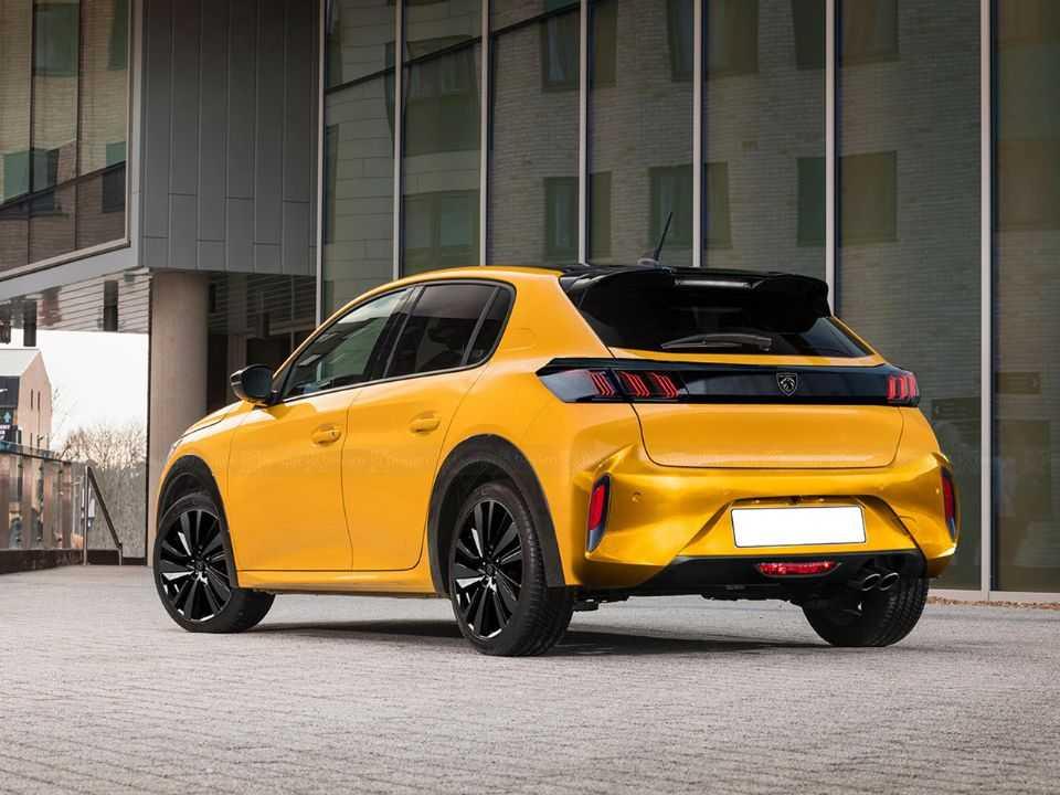 Projeção de Kleber Silva para o facelift do Peugeot 208