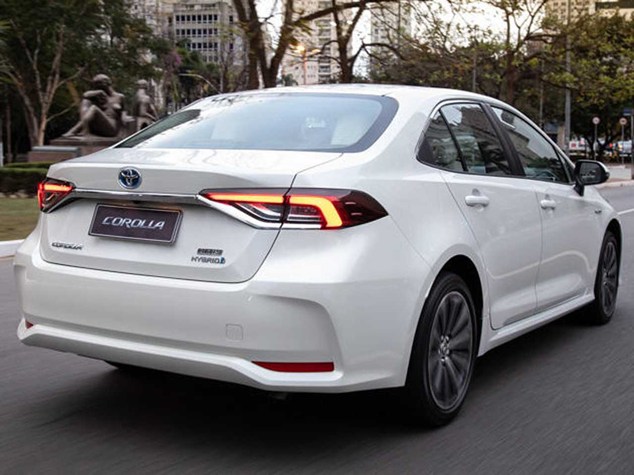 Híbrido flex, como é o caso do Corolla nacional, é uma excelente alternativa de carro menos poluente