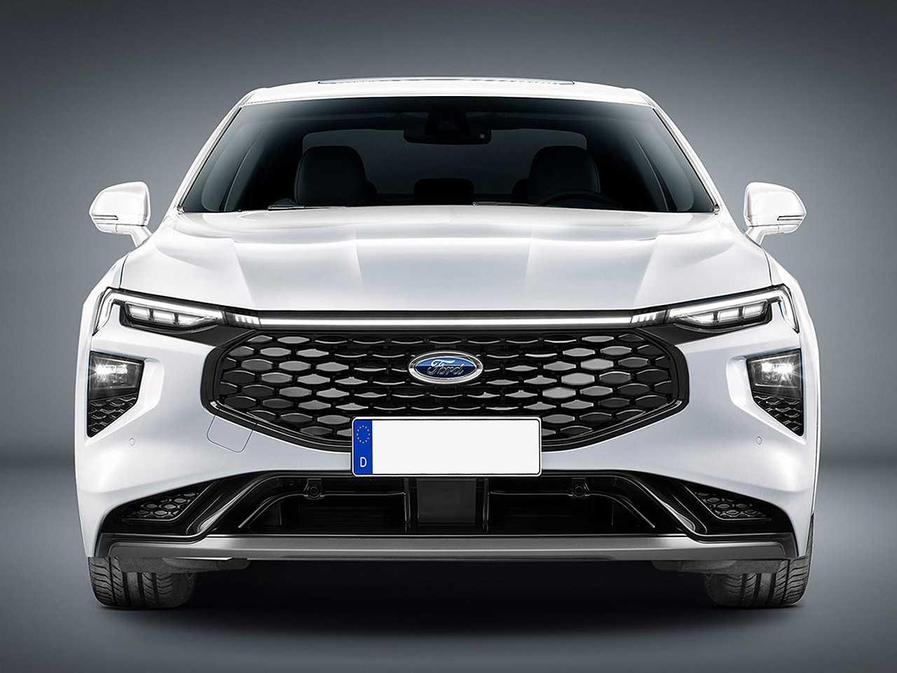 Projeção do sucessor do Fusion baseado no Ford Evos chinês