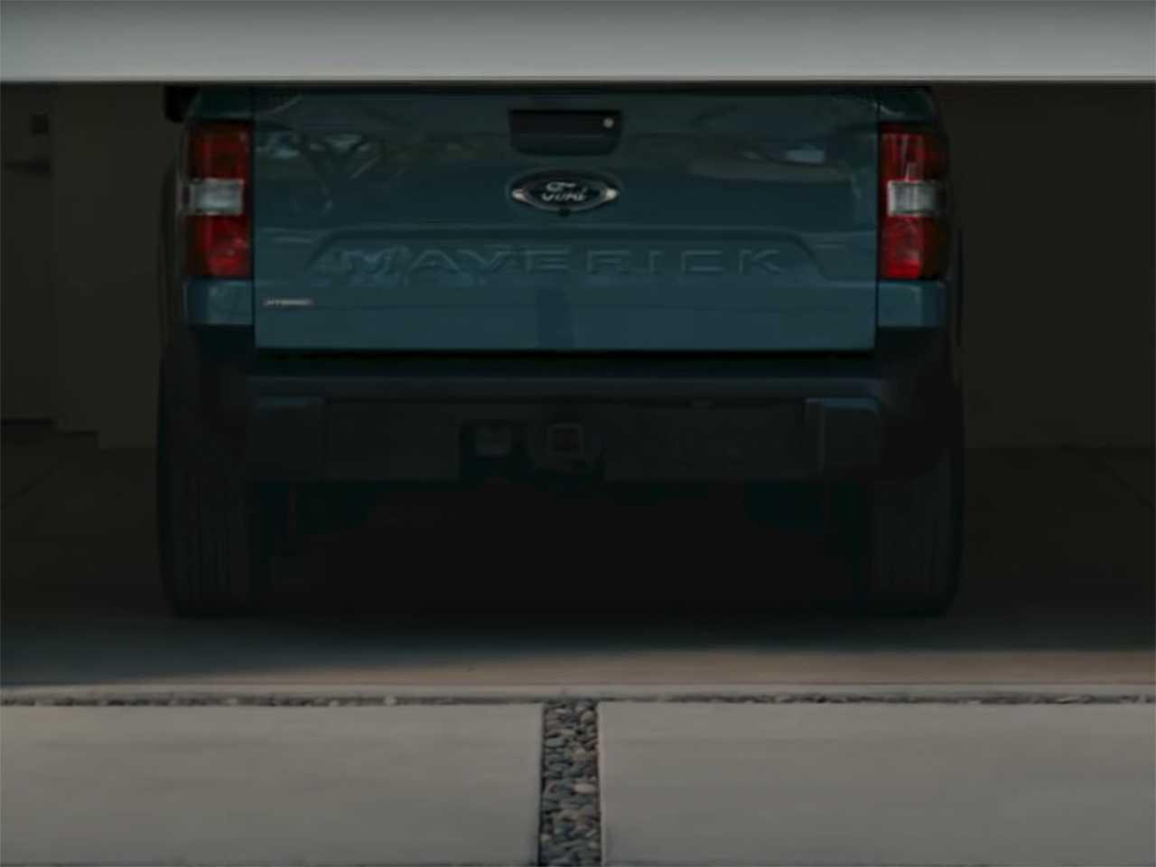 Traseira da nova Ford Maverick revelada em vídeo