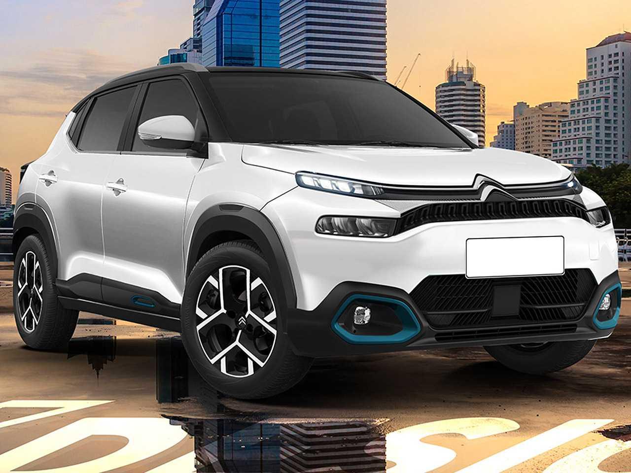 Projeção de Kleber Silva para a nova geração do Citroën C3