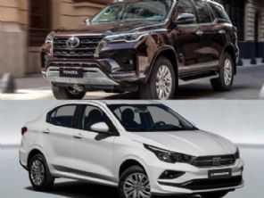 Toyota SW4, que alcança R$ 360 mil, supera vendas do Fiat Cronos