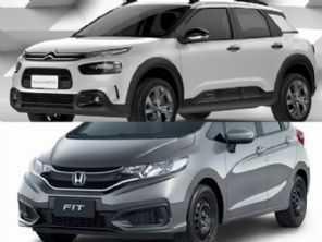 Honda Fit Personal ou um Citroën C4 Cactus Feel?