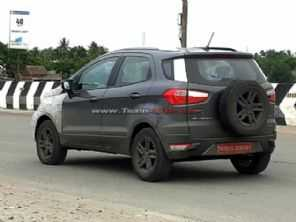 Flagra: novo Ford EcoSport em testes na Índia