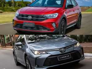 Toyota Corolla XEi 2022 ou um VW Nivus Highline 2021?