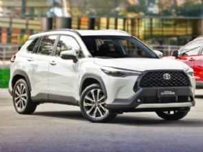 SUV Corolla Cross entra no top 10 do ranking de vendas