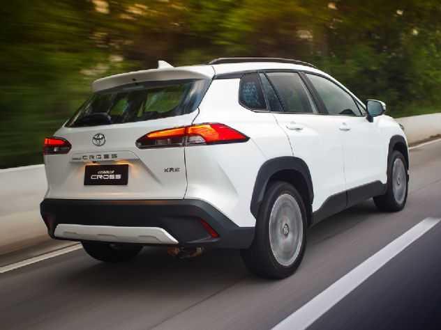 Brasil torna-se o maior exportador do Toyota Corolla Cross no mundo