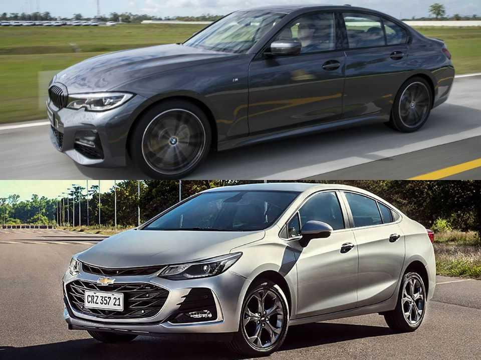 BMW Série 3 e Chevrolet Cruze