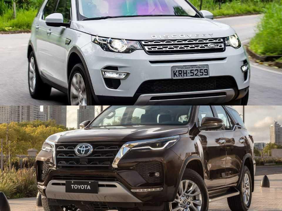 Land Rover Discovery Sport e Toyota SW4