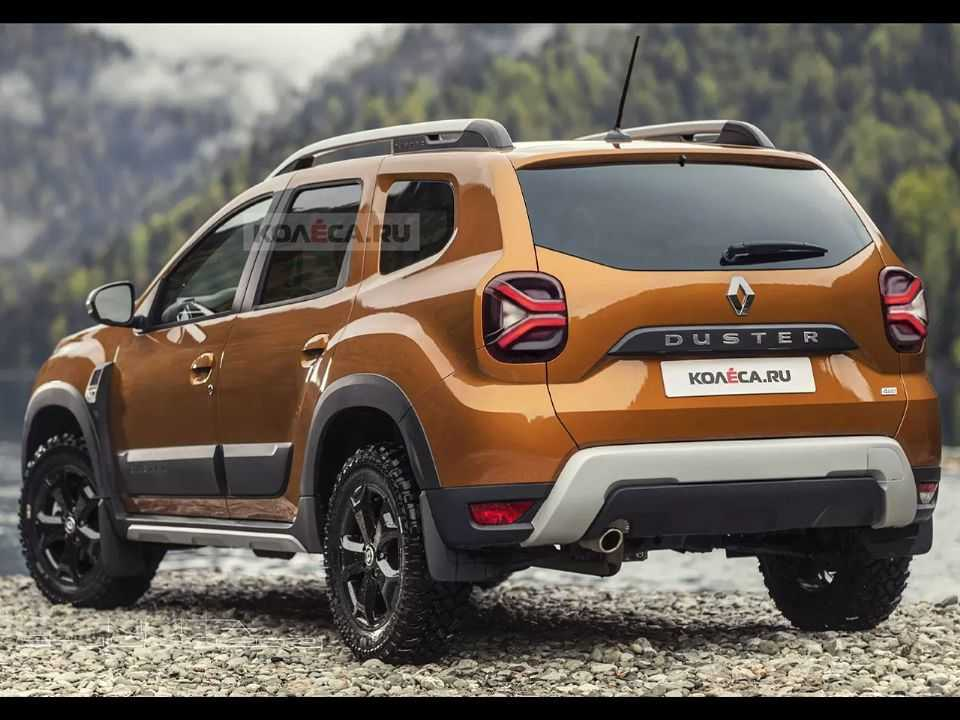 Projeção do site russo Kolesa para o facelift do atual Renault Duster