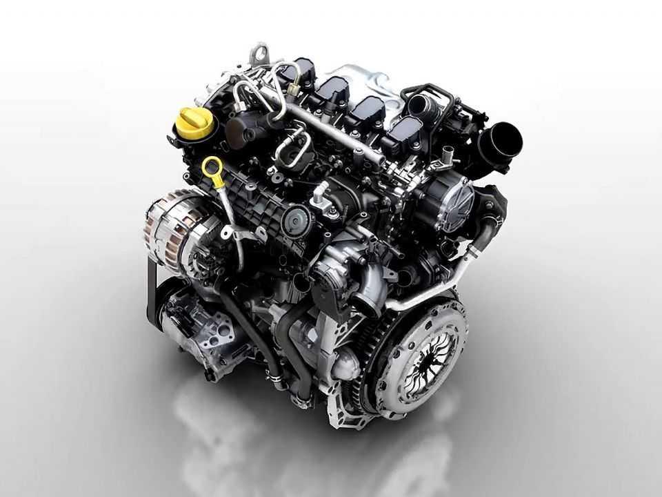 Acima o motor 1.3 TCe que vai estrear no Renault Captur 2022