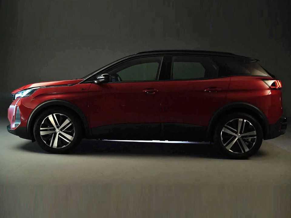 O novo Peugeot 3008 em teaser da marca