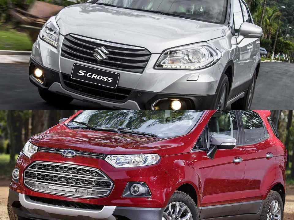Suzuki S-Cross e Ford EcoSport