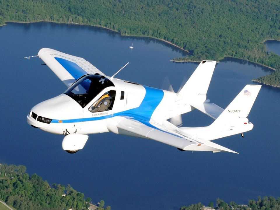 O carro voador Terrafugia Transition: ideia exótica