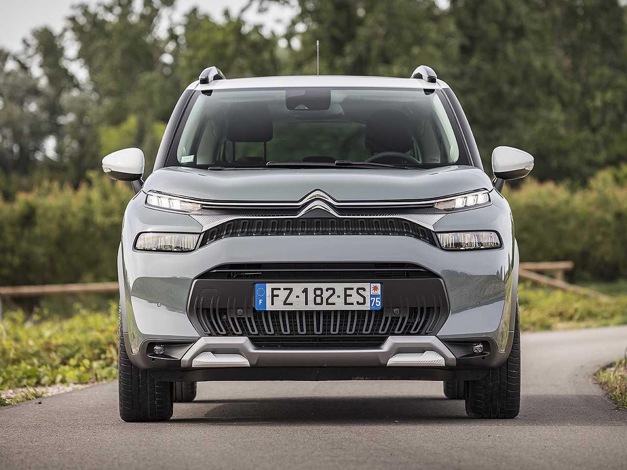 Acima o novo Citroën C3 Aircross vendido na Europa: boa referência para o projeto CC24