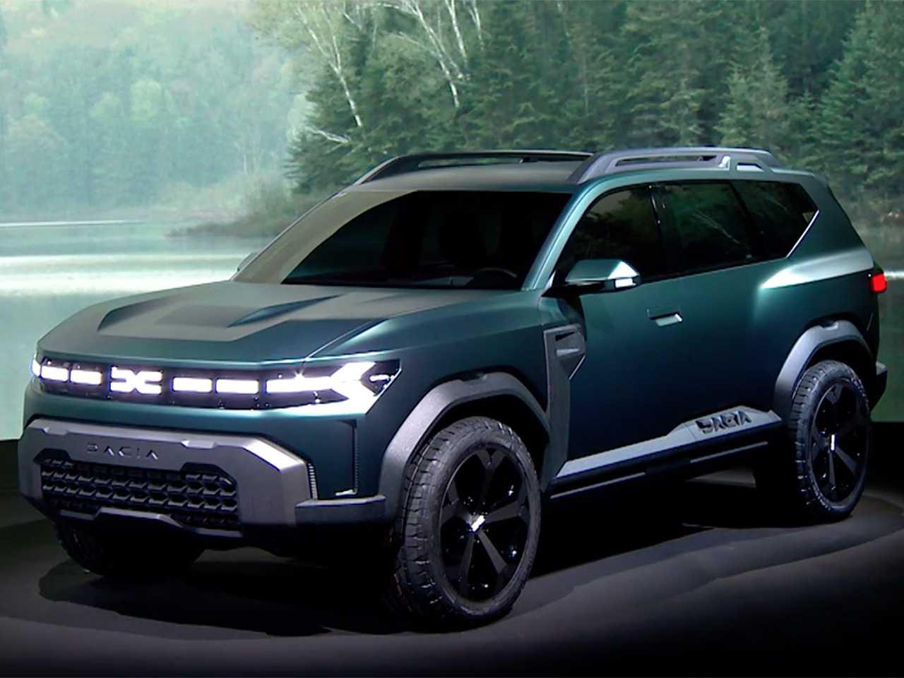Produto final baseado no conceito Dacia Bigster será revelado em setembro